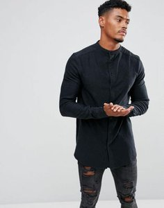 siksilk-siksilk-muscle-denim-shirt-with-grandad-collar-3YPKxAk9j25TFEi9FxH9m-300