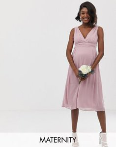 tfnc-maternity-tfnc-maternity-bridesmaid-exclusive-wrap-front-midi-dress-with-tie-back-in-pink-XxadYsa8d2V4kbvAUkgX6-300