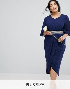 tfnc-plus-tfnc-plus-wedding-kimono-sleeve-midi-dress-with-wrap-skirt-9eVR7CRep2bXMjGjeQRyy-300