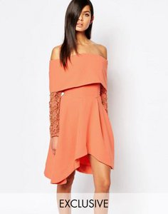 8th-sign-the-8th-sign-off-shoulder-skater-dress-with-lace-sleeve-ifpNCESJrS5S83bnMBk-300