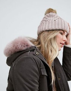 ugg-ugg-pom-grey-cable-cuff-beanie-hat-with-sheepskin-pom-rmXLmYrs12E3kM8m5XZ2v-300