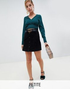 vero-moda-petite-vero-moda-petite-button-through-cord-mini-skirt-in-black-MePKmJDha25TLEhWJxrv6-300