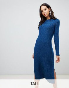 vero-moda-tall-vero-moda-tall-knitted-midi-jumper-dress-in-blue-CNUXKkPKK2y1q7MoxHwhy-300