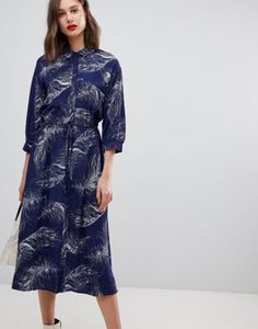 warehouse-warehouse-feather-printed-midi-shirt-dress-in-navy-JCVwqt7DA2bXbjEy1QJdP-300