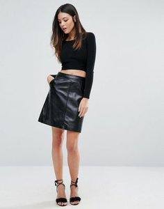 warehouse-warehouse-patent-leather-pelmet-skirt-R6ErFEJJZS6SP3onooW-300