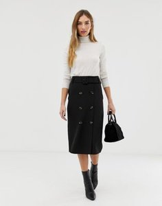 warehouse-warehouse-skirt-with-double-buttons-in-black-ouMAkzMC22SwpcpAeqwSb-300