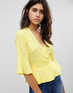 warehouse-warehouse-wrap-front-blouse-with-flute-sleeve-in-yellow-KJS8obfSS2LVTVUnfBamv-300