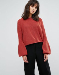 weekday-weekday-crop-knit-jumper-with-balloon-sleeve-obaPzvBw72V4Gbus1kf53-300