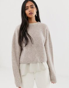 weekday-weekday-ribbed-knitted-jumper-in-beige-cWXaKVF4W2E3FM9ieXaVY-300