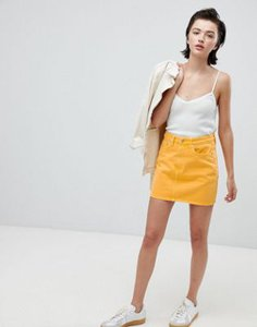 weekday-weekday-wend-denim-mini-skirt-in-yellow-FLQTML71X2hyyscGD4quo-300