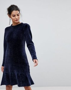 y-a-s-y-a-s-chenille-ruffle-drop-hem-midi-dress-in-blue-nYX6rCyBn2E3YM8FvXE6i-300
