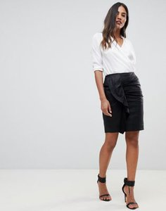 y-a-s-y-a-s-ruched-detail-leather-mini-skirt-LcSssUqQM2LVzVVxABCpf-300