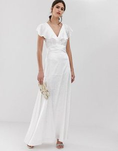 y-a-s-y-a-s-ruffle-sleeve-jacquard-maxi-dress-in-white-QQUHRQW912y127MTVHcmN-300