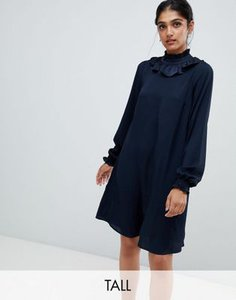 y-a-s-tall-y-a-s-tall-neck-detail-midi-dress-in-navy-qeXa2kFTW2E3hM9D1XXEn-300