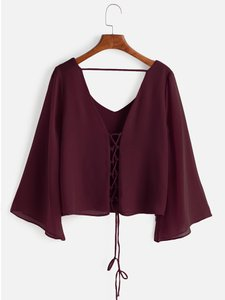 shein-kimono-sleeve-criss-cross-lace-up-blouse-T8arcLap42mKYXvDvhjFU-300