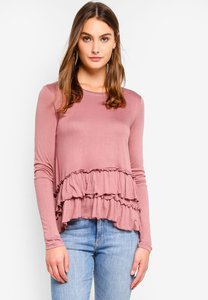 brave-soul-long-sleeve-top-with-frill-detail-8RdU24U37FiDKCnPwmbMs54W36GpQnNQ5XxB-300