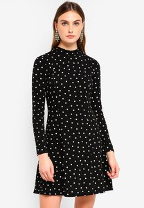 dorothy-perkins-black-spotted-high-neck-fit-flare-dress-Pv7kKkcR2ZDgpHRDW2TDzX9C2odRR2rdV7zz-300