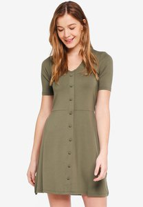 dorothy-perkins-khaki-button-fit-and-flare-dress-GVoj9boC6ETGNVtSKY8DRNR52YntBC9US3xW-300