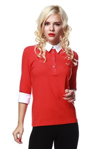 fred-perry-green-label-red-3-4-sleeves-polo-with-white-collar-VuuDquooeniaK6nic2YEZ6ZJt8wATimzC-300