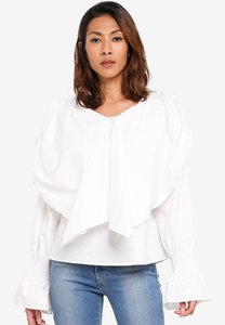 kleeaisons-exxagerated-bow-detail-peasant-blouse-hbESF67JWU6TX1cAaNsTwexG3uh9AipFSkBg-300