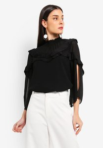 preen-proper-high-neck-pleat-detail-blouse-tR3D8zqSJYjV2FwnVMyqupkd25ivxWotQFXh-300