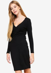 something-borrowed-ribbed-wrap-bodycon-dress-72pxTh9TXg3smRB7fMPYrMr32AL7mrUkWij5-300