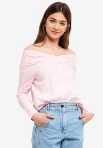 something-borrowed-off-shoulder-shirt-top-vuW5T4UHbF8cbBRVY1aSYbdV32up4ySJUPmT-300