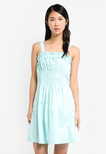 zalora-ruffle-dress-with-ruched-waist-qZTYcirwKUtEFiY7Y8243WKF2jZLaEG8HHR8-300