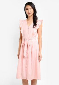 zalora-button-front-midi-dress-obaegzupSQTYo2mt5ef47jgi2q8gghv73maW-300