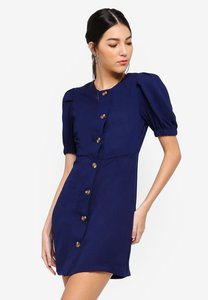 zalora-button-detail-balloon-sleeves-dress-bUDXRa3BzM42egGPyeJJAux52w7sLKAGEmgX-300