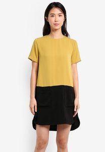 zalora-colorblock-patch-pocket-dress-9xTfT4Tc9GPghR4Ktn6XTBbL3uZuingXsFfj-300