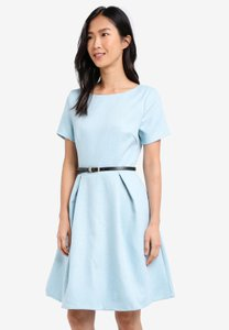 zalora-textured-fit-flare-dress-with-belt-9EUvNfGwPb5trLHtY1YPK6Dx2oLCBbAJ336e-300