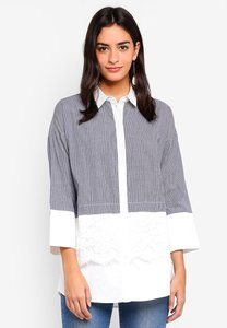 zalora-mixed-fabric-shirt-with-lace-insert-ZD1FN9gG3YCNNtjeABM5xszX3Z7Mt8cAUPo2-300