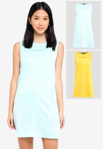zalora-basics-2-pack-pleat-detail-shift-dress-BujVFVLD8NpzuP7oAMuVR5UjvdKb6yf3D-300