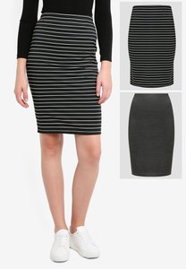 zalora-basics-2-pack-basic-bodycon-skirt-BTSV1ibDyHv5ug7WGiwFu5UgGdKbzyTRy-300