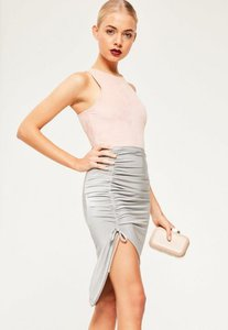 missguided-silver-slinky-ruched-side-midi-skirt-2HhYV6v9Jh9UYkbkGjgAsZmK9cX-300