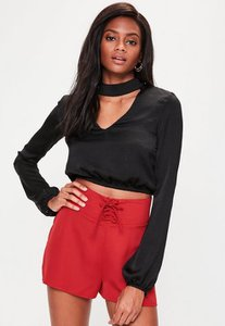 missguided-red-lace-up-high-waisted-shorts-o7t9PmVY3gjE1BpirPdSkeMtGfv-300