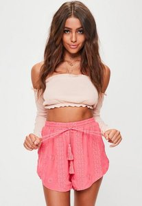missguided-pink-embroidered-runner-shorts-vYpz5UsoXys5wVygaANy4i4G3hz-300