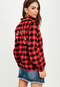missguided-red-studded-collar-checked-shirt-ECJo6cso85bh6SygaYHyhixGZak-300