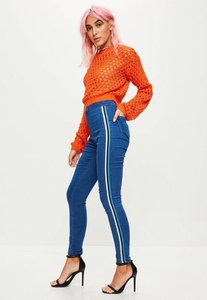 missguided-blue-vice-high-waisted-side-stripe-skinny-jeans-nB66Jiggf7HDZVHhiJqDUgq5wtU-300