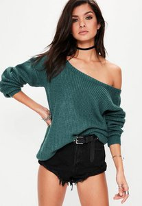 missguided-green-off-shoulder-knitted-jumper-Be1zKgXsNMKJpBjnYVjdMV5w6ba-300