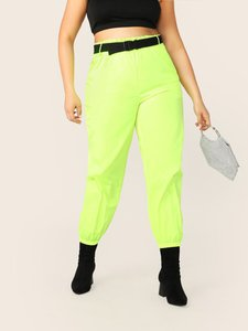 shein-shein-plus-neon-lime-push-buckle-belted-tapered-pants-tZCLUGxZyLZCZ6Svq2kmkdXymGrxh1jYaTik5-300