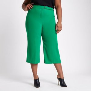 river-island-plus-green-belted-culottes-Hkue9WcZa6K71Caby4mZScL4LbcNt-300