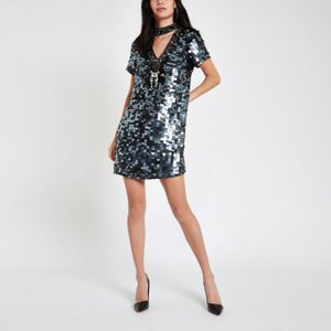 river-island-black-sequin-choker-neck-swing-dress-NnrQDLDSAvScNUEqY4XkpHNFmCtCv-300