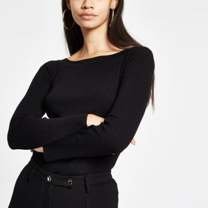 river-island-black-knit-ribbed-boat-neck-long-sleeve-top-knit-tops-knitwear-women-LnrAD7DhAYScNKmqz4X3WHNFmCmCM-300