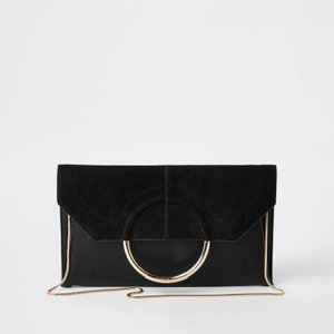 river-island-black-metal-ring-envelope-clutch-bag-rvsU9ykGbx8T37rte4jnGRNJKT17S-300