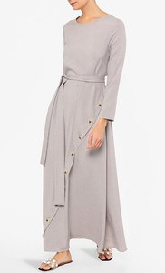 poplook-kalina-contrast-button-detail-jubah-dress-in-heather-beige-GGzQmGpiGFyL7e4jrkRv2wLoqm5X7G-300