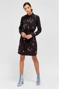 next-warehouse-black-floral-mini-shirt-dress-FnQTTDuMs2X4xmMhcvZkq-300