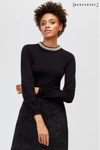warehouse-warehouse-black-bead-embellished-neck-jumper-vPPByHRB12Ds49G1gpgZ9-300