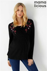 next-mamalicious-maternity-nursing-embroidered-top-z9S9dtQoT24gaQinH5Yig-300